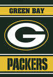 NFL Green Bay Packers 2-Sided House Banner Flag