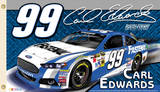 Nascar Carl Edwards 99 2-Sided Flag with Grommets Novelty