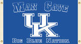NCAA Kentucky Wildcats Man Cave Flag with Grommets Flag