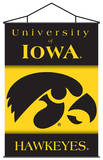NCAA Iowa Hawkeyes Indoor Banner Scroll Wall Scroll