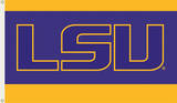 NCAA Louisiana State Tigers Flag with Grommets Flag
