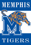 NCAA Memphis Tigers 2-Sided House Banner Wall Scroll