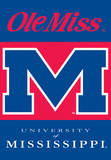 NCAA Mississippi Rebels 2-Sided House Banner Bandera