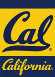 NCAA Cal Berkeley Golden Bears 2-Sided Garden Flag Bandera