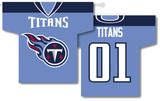 NFL Tennessee Titans 2-Sided Jersey Banner Flag