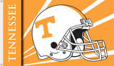 NCAA Tennessee Volunteers Helmet Flag with Grommets Flag