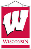 NCAA Wisconsin Badgers Indoor Banner Scroll Wall Scroll