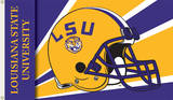 NCAA Louisiana State Tigers Helmet Flag with Grommets Flag