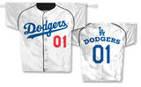 MLB Los Angeles Dodgers 2-Sided Jersey Banner Wall Scroll