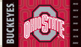 NCAA Ohio State Buckeyes 2-Sided Flag with Grommets Flag