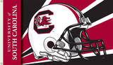 NCAA South Carolina Gamecocks Helmet Flag with Grommets Flag