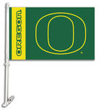 NCAA Oregon Ducks Car Flag with Wall Bracket Flag