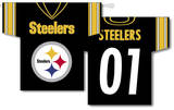 NFL Pittsburgh Steelers 2-Sided Jersey Banner Flag