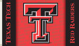 NCAA Texas Tech Red Raiders Flag with Grommets Flag