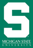 NCAA Michigan State Spartans 2-Sided House Banner Flag