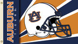 NCAA Auburn Tigers Helmet Flag with Grommets Novelty