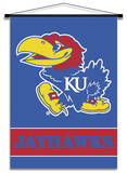 NCAA Kansas Jayhawks Indoor Banner Scroll Wall Scroll