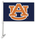 NCAA Auburn Tigers Car Flag with Wall Bracket Flag