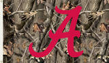 NCAA Alabama Crimson Tide Camo Flag with Grommets Flag