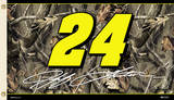 Nascar Jeff Gordon 24 - Realtree 2-Sided Flag with Grommets Novelty