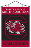 NCAA South Carolina Gamecocks Indoor Banner Scroll Wall Scroll