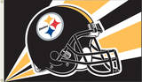 NFL Pittsburgh Steelers Flag with Grommets Bandera