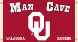 NCAA Oklahoma Sooners Man Cave Flag with Grommets Flag