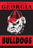 NCAA Georgia Bulldogs 2-Sided House Banner Flag