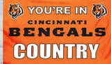 NFL Cincinnati Bengals Flag with Grommets Flag