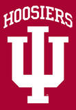 NCAA Indiana Hoosiers 2-Sided House Banner Flag