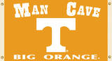 NCAA Tennessee Volunteers Man Cave Flag with Grommets Flag
