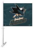 NHL San Jose Sharks Car Flag Flag
