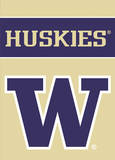NCAA Washington Huskies 2-Sided Garden Flag Flag