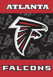 NFL Atlanta Falcons 2-Sided House Banner Flag