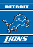 NFL Detroit Lions 2-Sided House Banner Flag