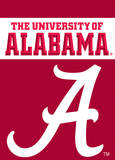 NCAA Alabama Crimson Tide 2-Sided Garden Flag Flag
