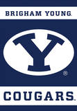 NCAA Brigham Young Cougars 2-Sided House Banner Pergaminho de parede