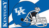 NCAA Kentucky Wildcats Helmet Flag with Grommets Flag