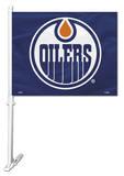 NHL Edmonton Oilers Car Flag Flag