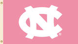 NCAA North Carolina Tar Heels Pink Design Flag with Grommets Flag