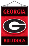 NCAA Georgia Bulldogs Indoor Banner Scroll Wall Scroll