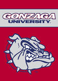 NCAA Gonzaga Bulldogs 2-Sided Garden Flag Novelty