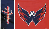 NHL Washington Capitals Flag with Grommets Flag
