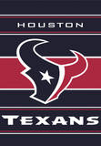 NFL Houston Texans 2-Sided House Banner Flag
