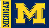 NCAA Michigan Wolverines 2-Sided Flag with Grommets Novelty