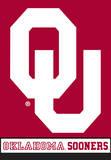 NCAA Oklahoma Sooners 2-Sided House Banner Flag