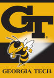 NCAA Georgia Tech Yellow Jackets 2-Sided House Banner Flag