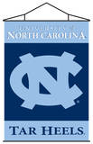 NCAA North Carolina Tar Heels Indoor Banner Scroll Wall Scroll