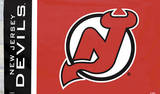 NHL New Jersey Devils Flag with Grommets Flag