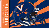 NCAA Virginia Cavaliers Helmet Flag with Grommets Flag